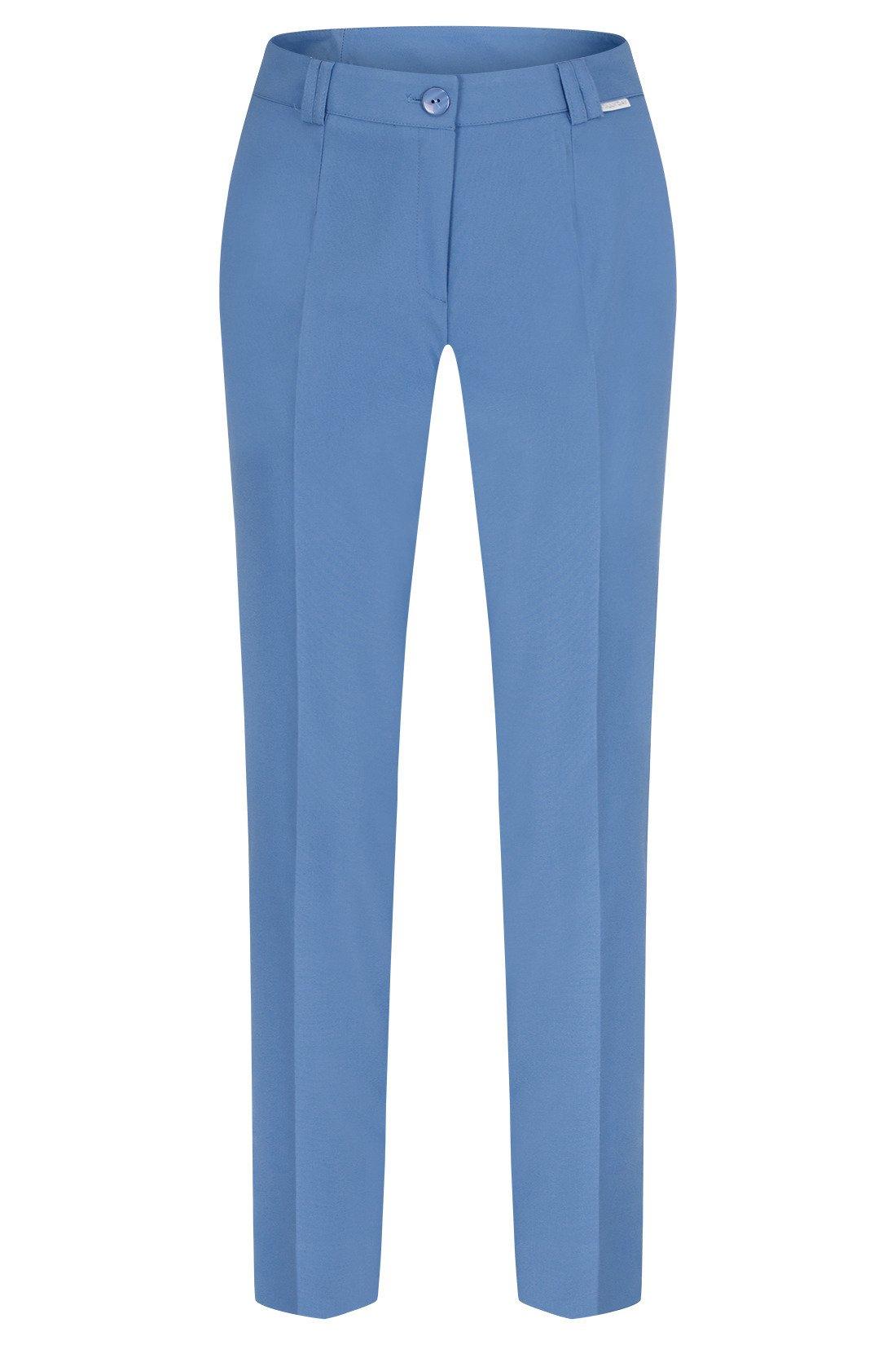 ff8d76ee Spodnie damskie Hela jasny jeansowy rozciągliwe wysokie w stanie długość 7/8