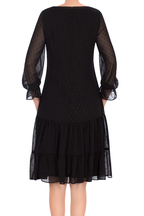 Sukienka Maria Magdalena Sara czarna z falbaną