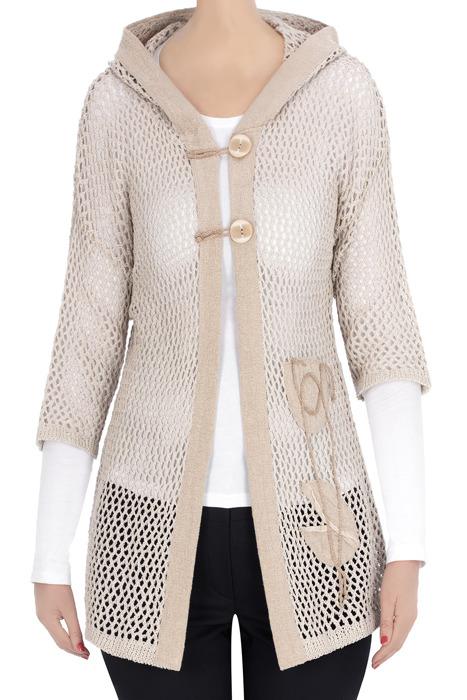 Ażurowy sweter damski Ilona 3368