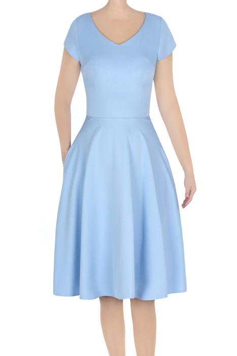 Elegancka sukienka damska Gotta baby blue 3258