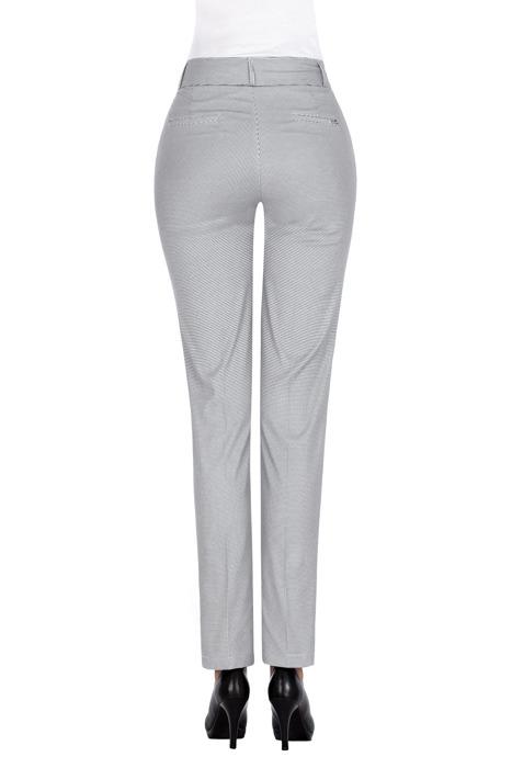 Eleganckie spodnie MTM 73 w pepitkę