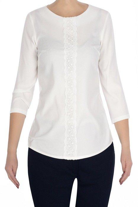 Klasyczna bluzka damska ecru