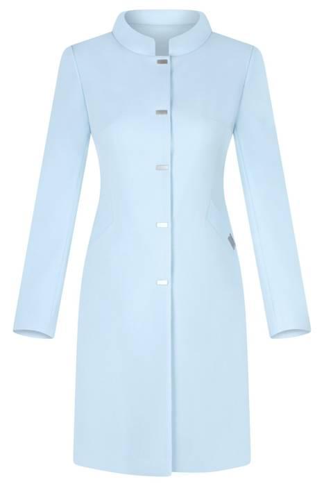 Klasyczny płaszcz Dagon 2979 błękit