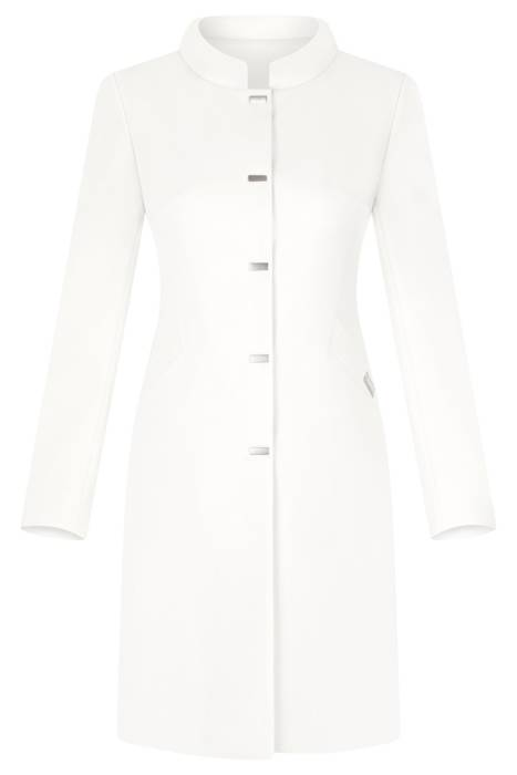 Klasyczny płaszcz Dagon 2979 ecru