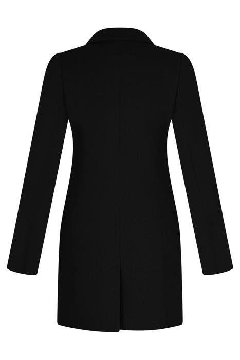 Klasyczny płaszcz dyplomatka Huna Janka czarny