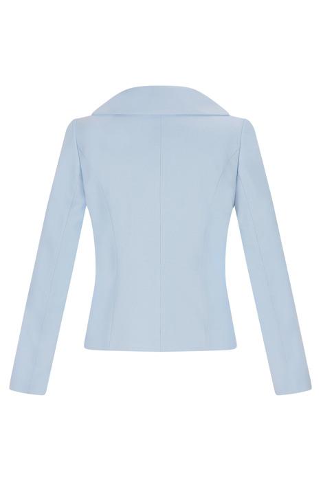 Krótka kurtka damska Huna Karin błękitno-niebieski