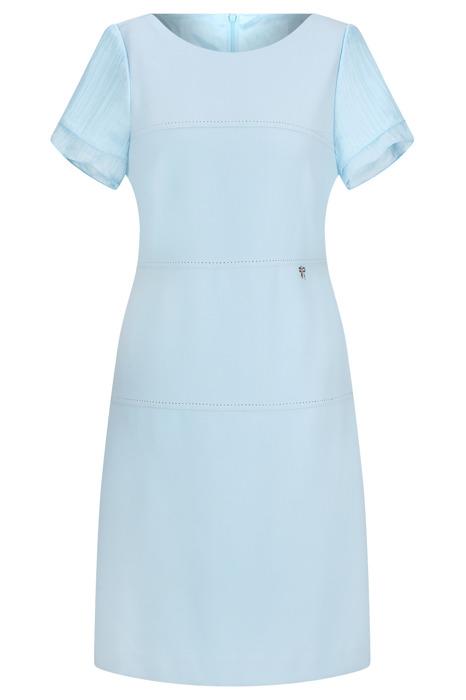 Sukienka Dagon 2385 niebieska