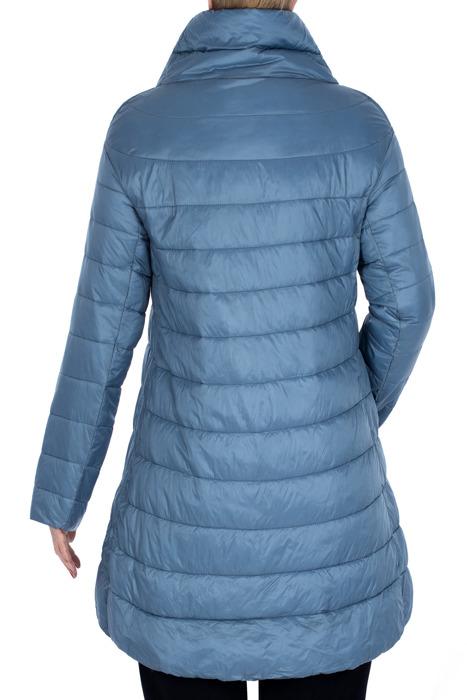 Wiosenna kurtka pikowana niebieska 3160