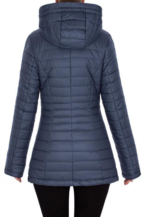 Wiosenna, pikowana kurtka niebieska 3173