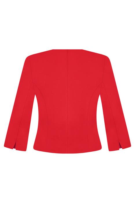 Wizytowy żakiet damski Kolor czerwony