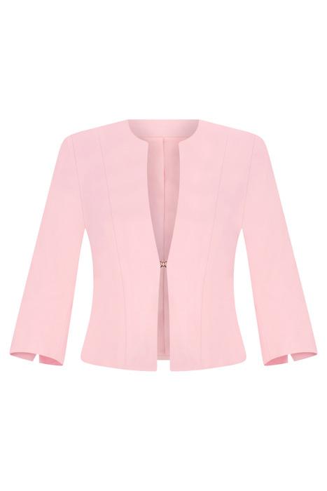 Wizytowy żakiet damski Kolor różowy